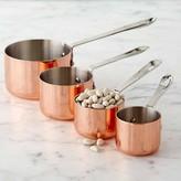 Williams-Sonoma Williams Sonoma Copper Measuring Cups, Set of 4
