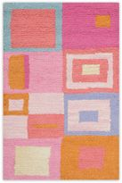 Safavieh Kids Squares Area Rug in Pink