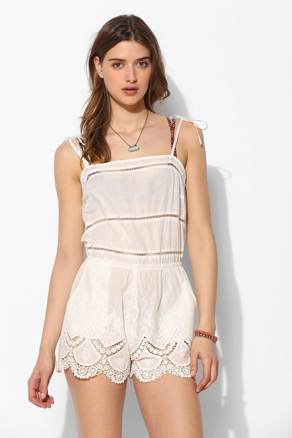6 Shore Road First Crush Embroidered Eyelet Romper