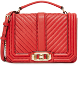 Rebecca Minkoff Chevron Quilted Cross Body Bag