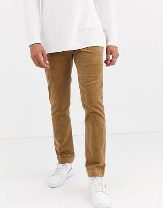 Polo Ralph Lauren slim fit cord trousers in beige