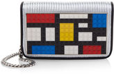 Les Petits Joueurs Micro Janis Mondrian Clutch Bag