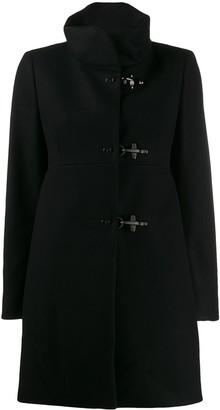 Fay Funnel Neck Midi Coat