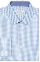 Perry Ellis Very Slim Mini Gingham Dress Shirt