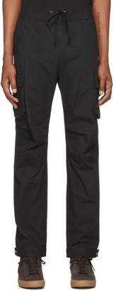 John Elliott Black Panorama Cargo Pants