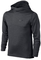 Nike Hooded Long Sleeve Dri-FIT Training Top (Little Boys & Big Boys)