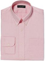 Lauren Ralph Lauren Classic-Fit Non-Iron Solid Pink Dress Shirt