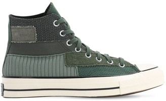 Converse Chuck 70 Hi Mono Patchwork Sneakers
