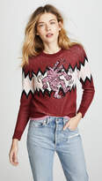 Coach 1941 x Keith Haring Zigzag Crew Neck Sweater