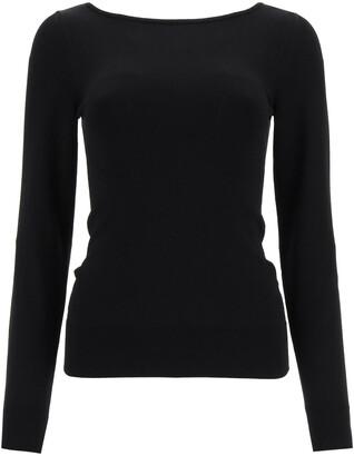 Dolce & Gabbana VISCOSE SWEATER 40 Black