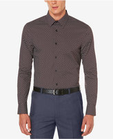 Perry Ellis Men's Non-Iron Exclusive-Print Shirt