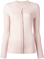 Marni raw edge cardigan - women - Cotton - 44