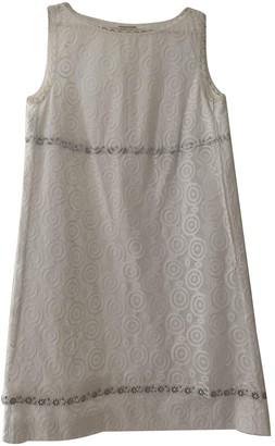 Philosophy di Alberta Ferretti White Cotton Dress for Women