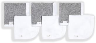 Burt's Bees Set of 6 Solid Washcloths