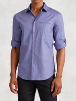 John Varvatos Roll Sleeve Button-Up Shirt
