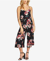 1 STATE 1.STATE Printed Racerback Jumpsuit