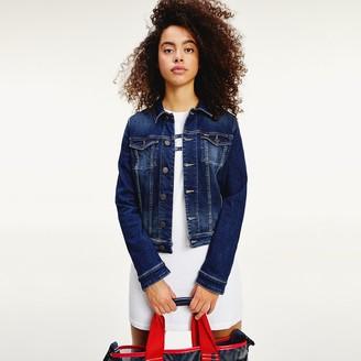 Tommy Jeans Straight Cut Denim Jacket