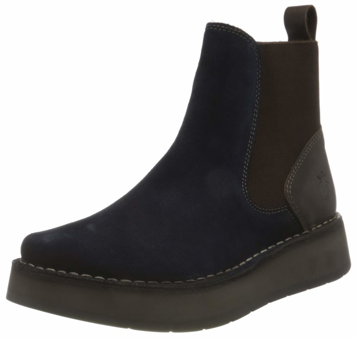 Fly Navy Boots | Shop the world's