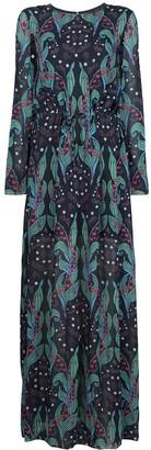 Ingie Paris Long Floral Dress