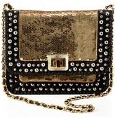 Angel Jackson Sequined satchel bag