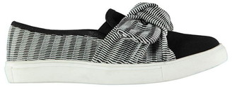 Fabric Rimini Ladies Slip On Shoes