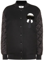 Fendi Karlito bomber jacket with fur