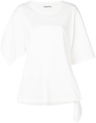 Aalto asymmetric sleeve T-shirt