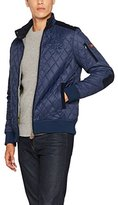 La Martina Men's Man Husky Nylon Bomber Jacket