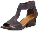 Coclico Ollie Leather City Sandal, Medium Blue