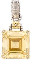 Judith Ripka Canary Crystal Pendant