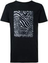 Les Benjamins zebra print T-shirt - men - Cotton - XL