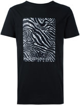 Les Benjamins zebra print T-shirt
