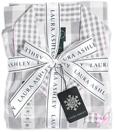 Laura Ashley White Checkerboard Pajama Set - Plus Too