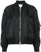 Sacai oversized bomber jacket - women - Polyester - 2