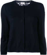 Moncler star embroidered cardigan - women - Cotton/Polyamide/Polyester/Wool - L