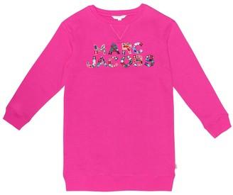 Little Marc Jacobs Embellished sweater dress