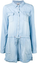 Twin-Set denim playsuit - women - Lyocell - XS