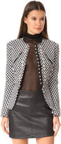Alexander Wang Raw Edge Peplum Jacket