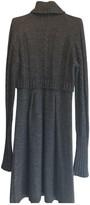 Sportmax Grey Wool Dress for Women