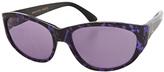 American Apparel Vintage Le Club Optique Marbled Purple Sunglasses