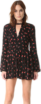Free People Tegan Printed Mini Dress