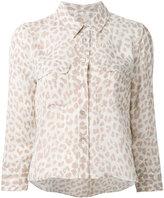 Equipment animal print shirt - women - Silk - S