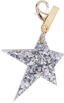 Edie Parker Star Bag Charm, Gold/Silver