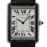 Cartier Tank Solo Silver Steel Watches