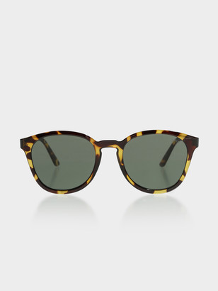 Le Specs Renegade Sunglasses in Syrup Tortoiseshell