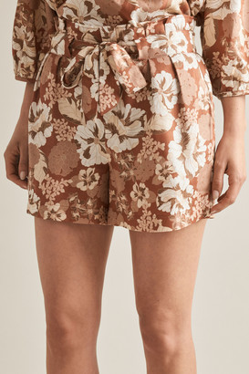 Seed Heritage Floral Print Shorts
