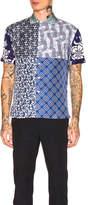 Pierre Louis Mascia Pierre-Louis Mascia Aloeuw Patchwork Shirt