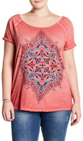 Lucky Brand Graphic Tee (Plus Size)