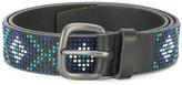 Orciani diamond studded belt