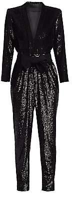 A.L.C. Women's Kieran Sequin Jumpsuit - Size 0